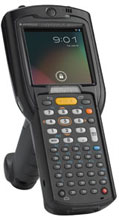 "Zebra MC32 - COLETOR DE DADOS  GUN, CE PRO 7.X, LEITOR 1D LASER SE96X STANDARD RANGE, TELA 3"", 802.11 A/B/G/N, BLUETOOTH, 48 TECLAS, BATERIA DE ALTA CAPACIDADE 4800MAH, 1GB/4GB, ÁUDIO COMPLETO"
