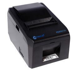 Diebold -  Perfecta Im833tu -  Impressora Térmica Grafite 80, 76 E 57 Mm, Usb E Gaveta, Guilhotina, Com Fonte Externa E Cabo Usb. Velocidade De 180 Mm/S