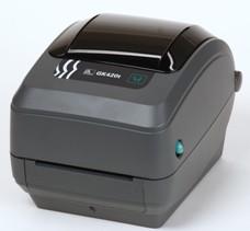 Zebra - Gk 420T - Impressora Térmica De Código De Barras, Conexão Usb E Serial, Epl E Zpl, Transferência Térmica (203Dpi)