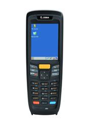 ZEBRA MC2180  - COLETOR DE DADOS WLAN 1D LASER CORE KIT INCLUI COLETOR  + BASE DE CARGA E COMUNICAÇÃO + CABO DE COMUNICAÇÃO + FONTE