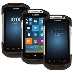 Zebra  Tc70 - Coletor De Dados  Android 4.4.3 Kitkat, Gps, 802.11A/B/G/N (Ch 1-13), Bt, Nfc, Leitor 2D Se4750 Sr Imager, Câmera Frontal E Traseira E Alça De Mão / Sem Google Mobile Service (Gms)