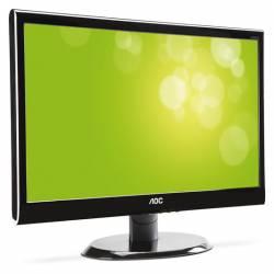"""Aoc - Monitor Led- Tft 18,5"""" Aoc  -  Wide Screen"""