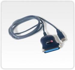 Flex Port -  F5211e- Conversor Usb Para 1 Porta Paralela Centronics 36 Vias