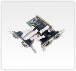 Flex Port -  F1141E- Placa Pci Com 4 Portas Seriais Rs232