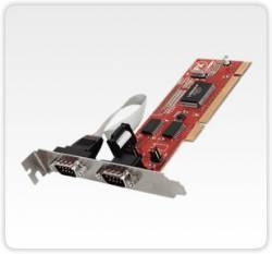 Flex Port -  C2032 - Placa C/ 2 Seriais C/ Aliementação