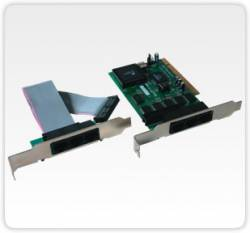 Flex Port -  C2028- Placa Pci Com 6 Portas Seriais Rs232 Rj45