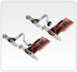 Flex Port - E Placa C/ 2 Seriais Pci