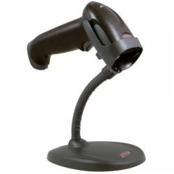 Honeywell - Voyager 1250G - Kit Usb: Leitor De Código De Barras 1D, Preto (1250G-2), Pedestal De Mãos Livres Com Pescoço Flexível (Stnd-15F03-009-4), Cabo Espiral Usb