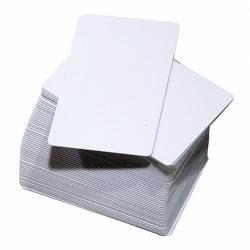 Zebra - Cartão Pvc Branco De 30 Mils (5 Pacotes Com 100) Isso Cr80