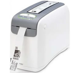 Zebra - Hc100 - Impressora De Pulseiras Com Conexão Usb, Serial E Zebranet Interno 10/100 (300 Dpi) (Termica Direta)