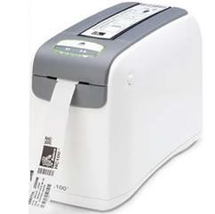 Zebra - Hc100 - Impressora De Pulseiras, Conexão Usb E Serial (300 Dpi) (Termica Direta)